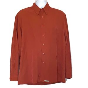 Ted Baker Size 3 Men's Long Sleeve Button Shirt
